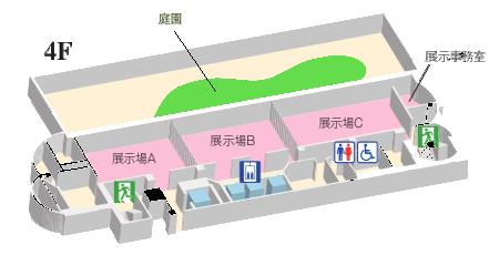 ホール4階 見取り図